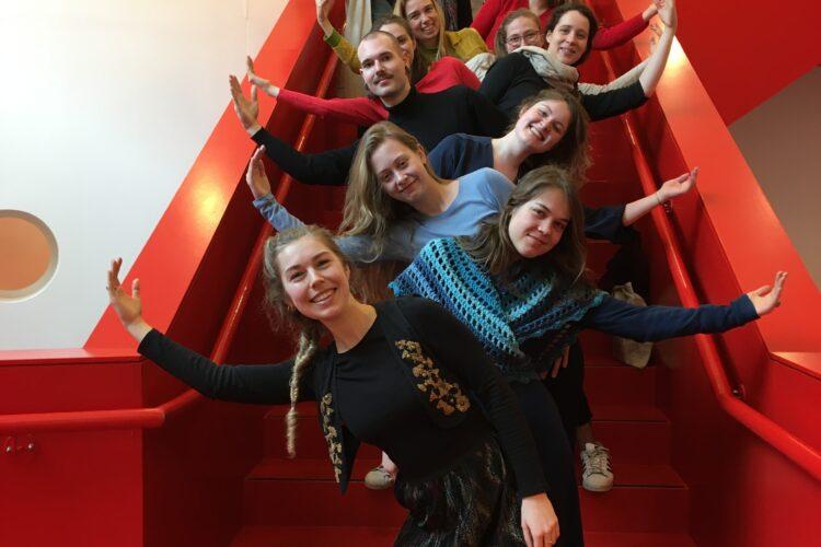 Foto: Studenten Dans/Euritmie Hogeschool Leiden