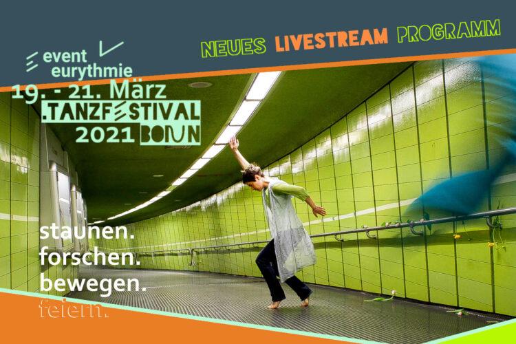 Op 20 maart wordt het Eventeurythmy.TanzFestival online uitgezonden via een livestream