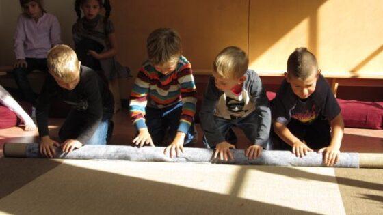 De bewegende klas: ruimte voor leren in beweging